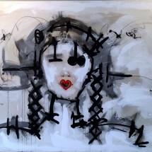 COUETTES - 100x150 - acrylique sur toile - 2011 - 3 500 €