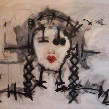 COUETTES - 100x150 - acrylique ur toile - 2011 - 3 500 €